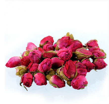2020 100g Rose Tea Dried Roses Pingyin Roses Edible Rose flower Tea Fresh Natural Buds Bulk 1