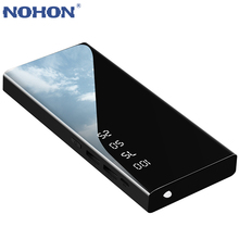 NOHON Portable Power Bank Dual USB Ports 2.1A Output Fast Ch