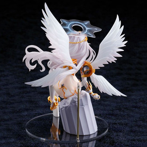 Image 5 - Гипергабаритные черные сердца, белые крылья, 22 см Экшн фигурки из ПВХ, коллекционные игрушки