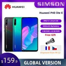 Global Versie Huawei P40 Lite E 4Gb 64Gb Smartphone 48MP Ai Camera 6.39 Fhd 4000 Mah Grote Batterij huawei Kirin 710F