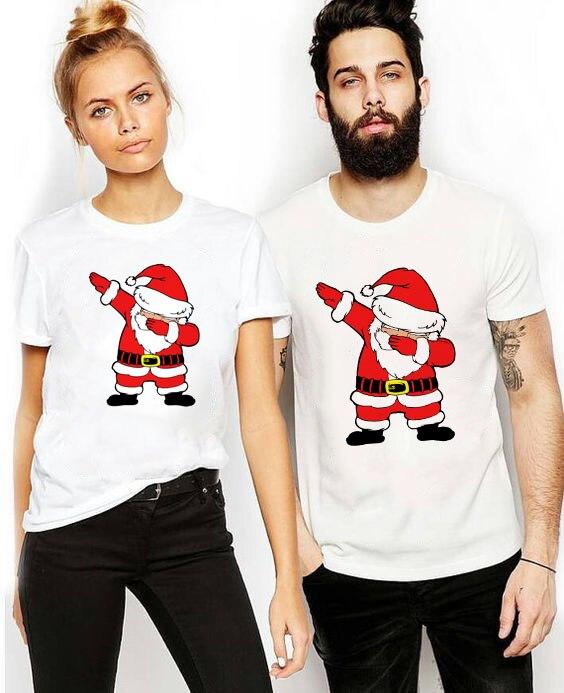 1 предмет, рождественские Семейные футболки с изображением Санта-Клауса для мальчиков и девочек, папы и мамы, одежда для рождественских праздников модная одежда для вечеринок, детские футболки