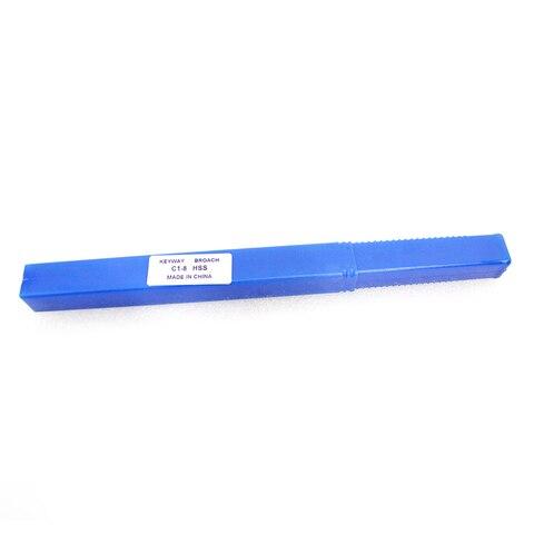 Métrico com Shim Ferramenta de Corte para a Máquina do Cnc Keyway Broach Push-tipo Tamanho Hss 5mm c1
