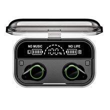 TWS Bluetooth 5,0 наушники стерео беспроводные Earbus HIFI Звук спортивные наушники гарнитура с микрофоном для телефона ANDROID