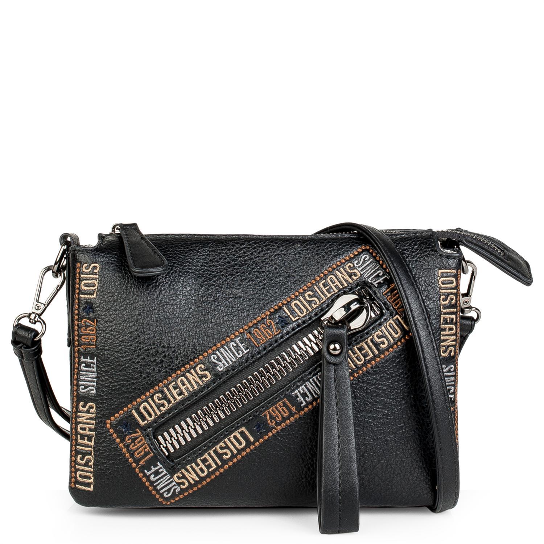 Lois Modelo Gunters Bolso Pequeño Bandolera con bolsillo cremallera delantero para la mujer urbana que quiere comodidad. 4