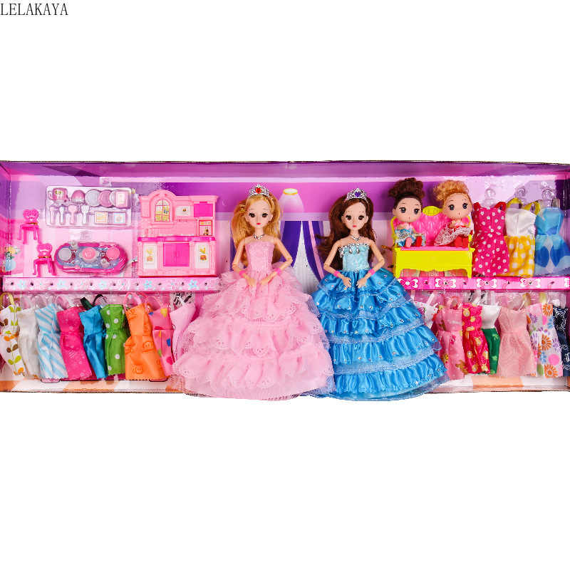 Anak-anak Berpura-pura Bermain Kartun Peran Bermain Fashion Indoor Indah Berdandan Permainan Kreatif Mini Putri Kecantikan: Anak Gadis Fashion Mainan Set