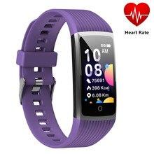 Pulsera inteligente R12 con Control de la presión sanguínea, Control de música, podómetro, salud y Fitness