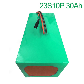 84V 30Ah 23S10P 18650 Li-ion Battery electric two Three wheeled motorcycle bicycle  ebike 280*200*140mm