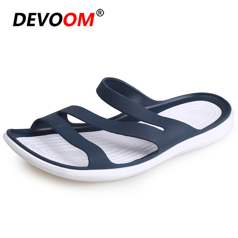 Outdoor Beach Sandals Women Soft Comfort Slip On Slippers Women Summer Female Shoes Non-slip Sandalias Mujer 2020 Flip Flops 40