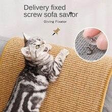 Cat Scratcher Sisal Mat Board Cat Scratch for Sharpen Nails Scraper Cats Tree Cat Toys Chair Table Sofa Mats Furniture Protector