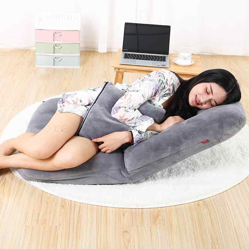 Диван-кровать для общежития, татами, одиночный Удобный Компьютерный складной стул на спине для спальни, Балконный плавающий оконный стул
