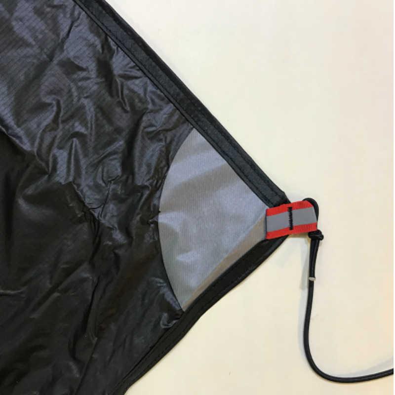 3F UL dişli LanShan 1 çadır ayak izi su geçirmez aşınmaya dayanıklı zemin sayfası orijinal silnylon zemin örtüsü 210*95cm