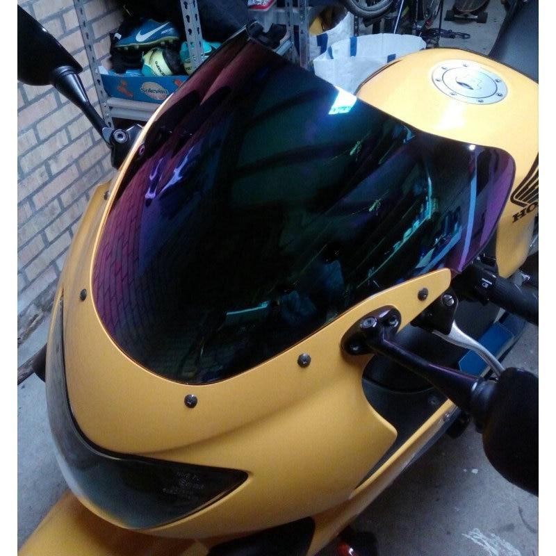 Front Motorcycle Windscreen Wind Shield Windshields Wind Screen for H-O-N-D-A CBRF4i CBR F4i 2001-2007 Artudatech Motorbike Windshield