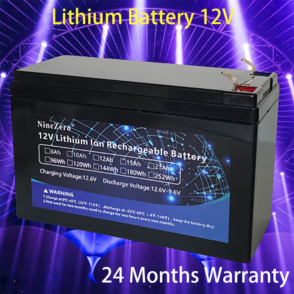 Electric Car Lithium <font><b>battery</b></font> <font><b>12v</b></font> <font><b>8Ah</b></font>-21Ah Li-ion Rechargeable <font><b>Battery</b></font> Pack Light Weight for Sprayer Kid Toys solar System image
