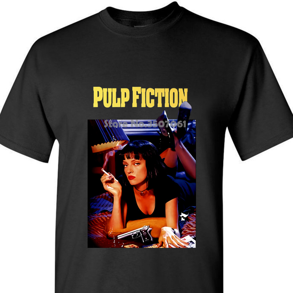 New 2018 summer winter Fashion Pulp Fiction , Poster , 1994 , Quentin Tarantino   T     Shirt   All Sizes S To 5xl coat clothes tops