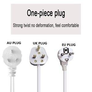 Image 5 - Protetor de tomada 10ac, tomada ue, reino unido, austrália, plugue adaptador de tomada elétrica, tomada de extensão 2.5/5m interruptor de alimentação