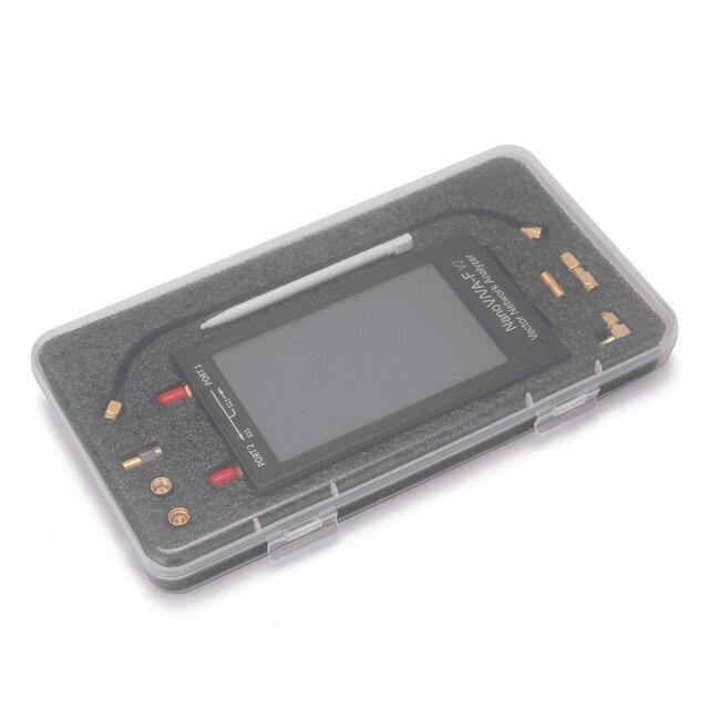 KKMOON nanovna-f V2 4.3 pouces IPS LCD affichage vecteur réseau analyseur S-A-A-2 antenne analyseur ondes courtes HF VHF UHF mètre