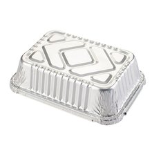 Box Container Bowl Lunch-Box Tin-Carton Aluminum-Foil Disposable Packed Rectangular Takeaway