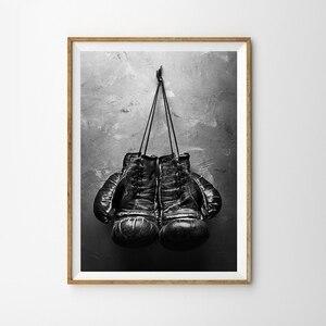 Boxing Gloves Vintage Canvas N