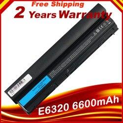 Ноутбук Батарея для Dell Latitude E6120 E6220 E6230 E6320 E6330 E6320 XFR E6430s серии 09K6P 0F7W7V 11HYV 3W2YX 5X317 7FF1K