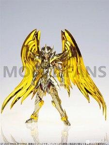 Image 5 - Modelo fãs em estoque gt grandes brinquedos sog ex sagitário aiolos alma de ouro saint seiya metal armadura mito pano ouro figura de ação