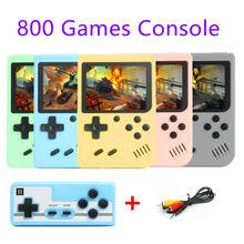 Nouveau 800 en 1 rétro Console de jeu vidéo jeu de poche Portable poche Console de jeu Mini lecteur de poche pour enfants joueur cadeau