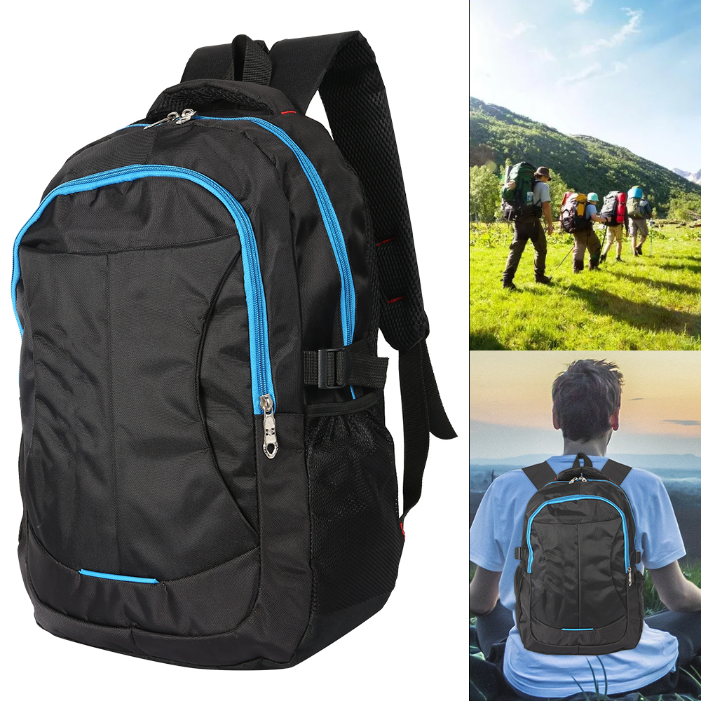Nylon 35L Waterproof Climbing Backpack Rucksack Outdoor Sports Bag Travel  Camping Hiking Backpack Women Trekking Bag For Men
