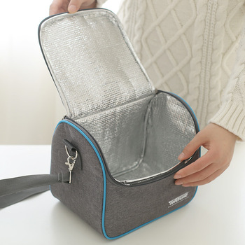 Thermal Insulation Cooler Lunch Bag Picnic Bento Box Fresh Keeping Ice Pack Food Fruit Container Storage Accessories Supply - discount item  25% OFF Special Purpose Bags