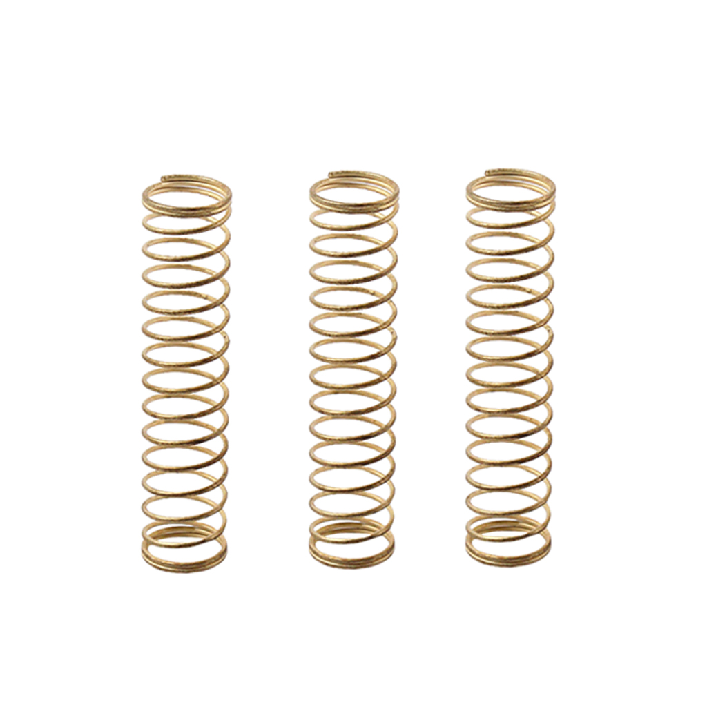 3pcs Brass Metal Trumpet Springs For Brass Instrument Repair Parts 39x9mm