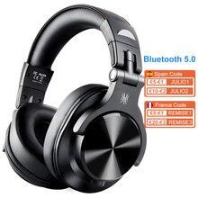 Oneodio A70 بلوتوث 5.0 سماعات لاسلكية المهنية DJ سماعة المحمولة سماعة رأس سلكية الموسيقى حصة لتسجيل رصد