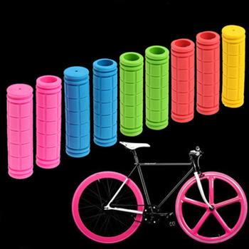 Kierownica do roweru kierownica uchwyty Road MTB Mountain Trek obudowa rowerowa osłona Ar15 uchwyty uchwytów pokrywy części rowerowe TPR guma tanie i dobre opinie CN (pochodzenie) Rubber 12 cm 2 2cm