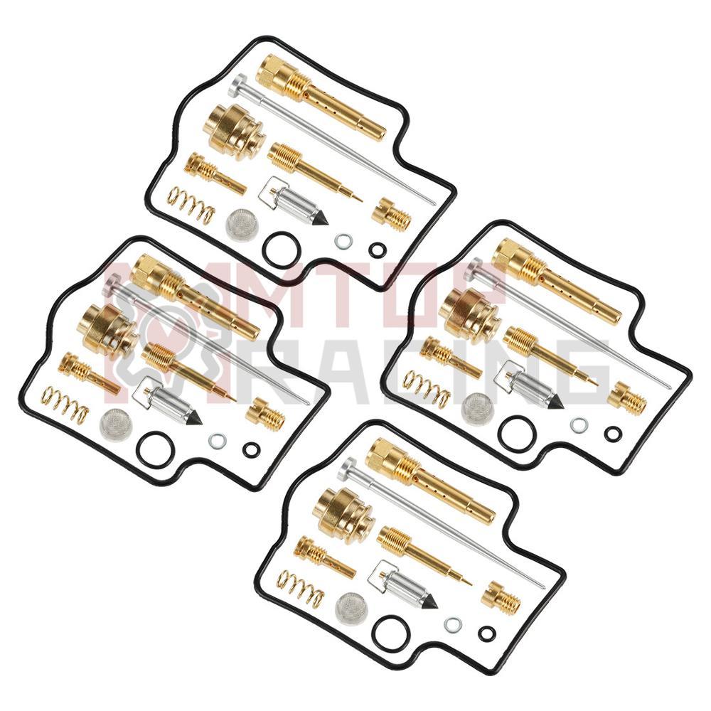 Carburetor Rebuild Carb Repair Kit Gasket For Kawasaki ZZR400 1990-2006 1991 1992 1993 94 95 96 97 98 99 2000 01 02 03 2004 2005