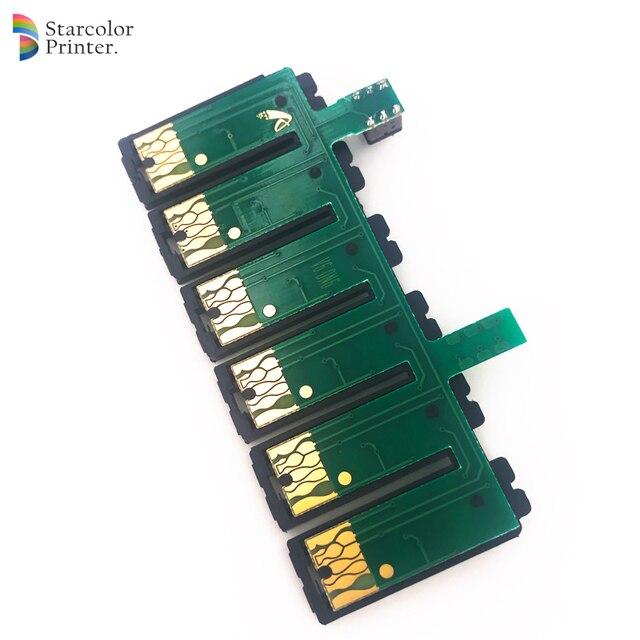 Starcolor 6 Couleur T0851-T0856 T0821N-T0826N T0791-T0796 ARC Puce Ciss pour Epson 1390 T50 Imprimante Système Dalimentation En Encre Continue