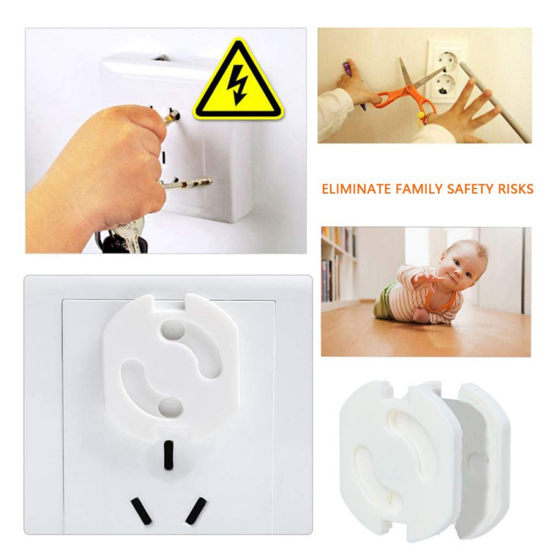 Outlet Plug Covers Child Proof Electrical Protector Plastic Power Socket Cover Home Protect Baby Kids in Tool Parts from Tools