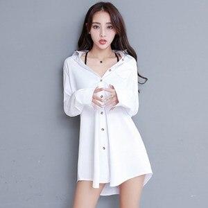 White Blouse Women's Autumn Blusa 2020 Plus Size Casual Vintage Winter Blusa Pink Chemisier Femme Tops Long Sleeve Shirt Ladies