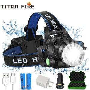 T20 TL900 LED Headlamp USB Rec
