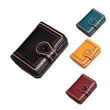 Женская кожаная обувь бумажник ручной работы из мягкой кожи