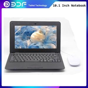 2018 bdf 10.1 Polegada notebook android 8gb duplo núcleo mini netbook bluetooth rj45 android 6.0 tablet wifi comprimidos tab