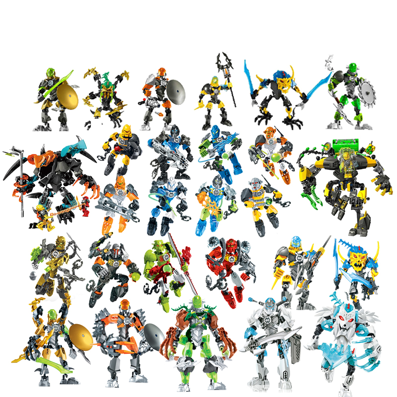 Star Warrior Soldiers Hero Factory 6.0 Surge Evo Stringer Robot Figures Building Block Compatible With Logoes Enlighten Toys