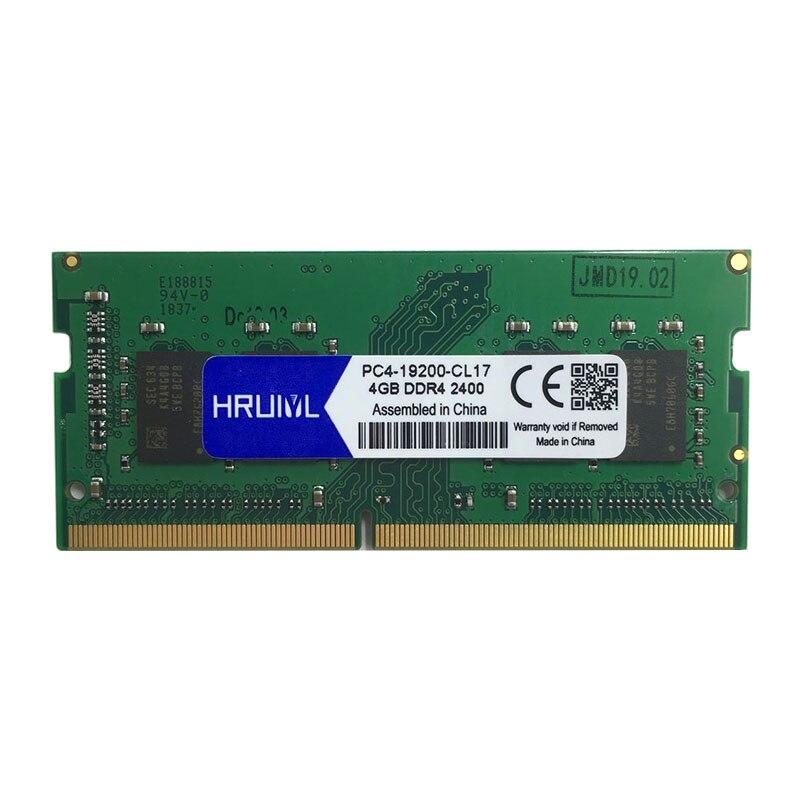HRUIYL Laptop RAM Memory DDR4 With 4GB 8GB 16GB Memory Capacity 2