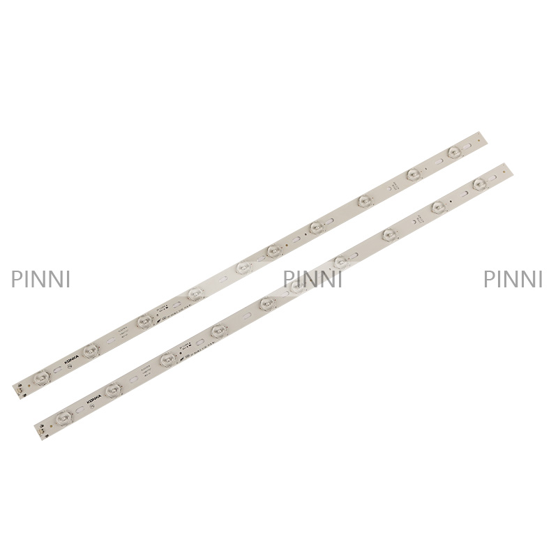 100% novo k onka kl32gt618 led backlight 35017727 10leds 64.4cm 1 conjunto = 2 peças