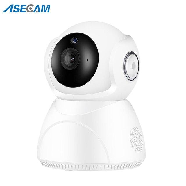 Caméra de surveillance IP WiFi hd 3MP (V380), dispositif de sécurité domestique sans fil, avec suivi ia, panoramique/inclinaison, Vision nocturne, Cloud P2P, application 1