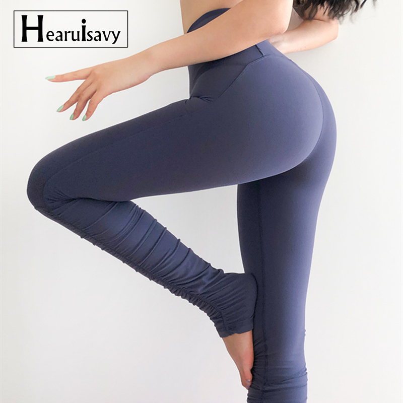 <font><b>Women</b></font> Step Foot <font><b>Leggings</b></font> Tight Keep Warm <font><b>Yoga</b></font> <font><b>Pants</b></font> <font><b>High</b></font> <font><b>Waist</b></font> Push Up <font><b>Sexy</b></font> Hips Fold <font><b>Fitness</b></font> Running <font><b>Leggings</b></font> Dance <font><b>Pants</b></font> image