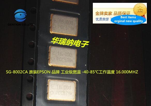 5pcs 100% New And Orginal SG-8002CA 16M 16MHZ 16.000MHZ Original Imported Industrial Grade Active Crystal