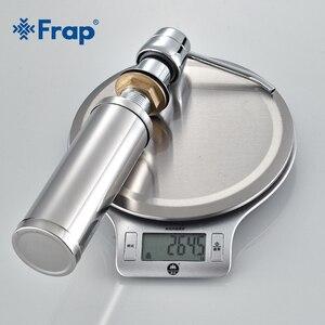 Image 5 - Frap Cheaper Stainless Steel Liquid Soap Dispenser Kitchen Sink Soap Box Chrome Finished detergent dispensers Kitchen accessorie