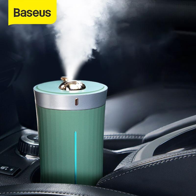 Baseus Car Air Humidifier Purifier For Car Home Desktop Intelligent 420ML Large Capacity Auto Car Air Humidifier