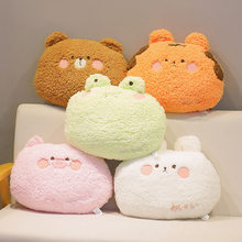 Kawaii Animal Plush Toys Soft Stuffed Squishy Pillow Squishmallow Doll Home Car Decor Birthday Valentines Day Gift For Kids Girl
