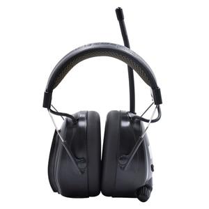 Image 3 - Protear NRR 25dB ochronników słuchu Bluetooth DAB +/FM Radio nauszniki elektroniczna ochrona słuchu słuchawki z Bluetooth Ear Defender