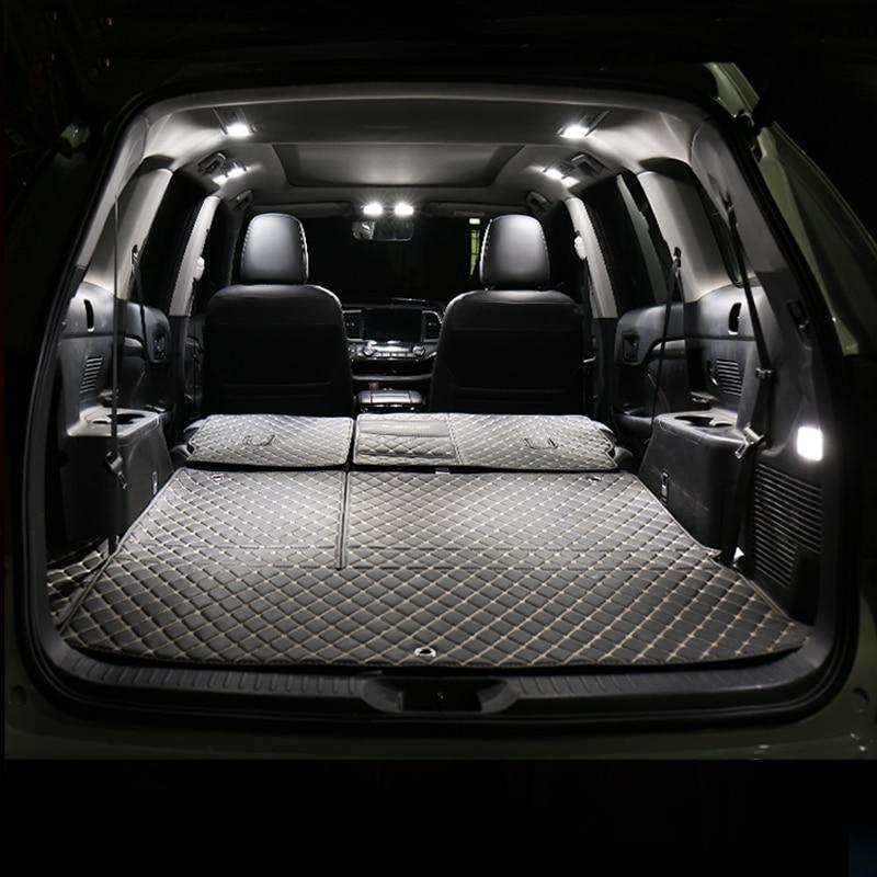 Car LED Bulbs For Skoda Octavia 2 3 A5 A7 MK2 MK3 RS Sedan Combi 2004-2019 Interior Dome Reading Lamps Trunk Light Accessories
