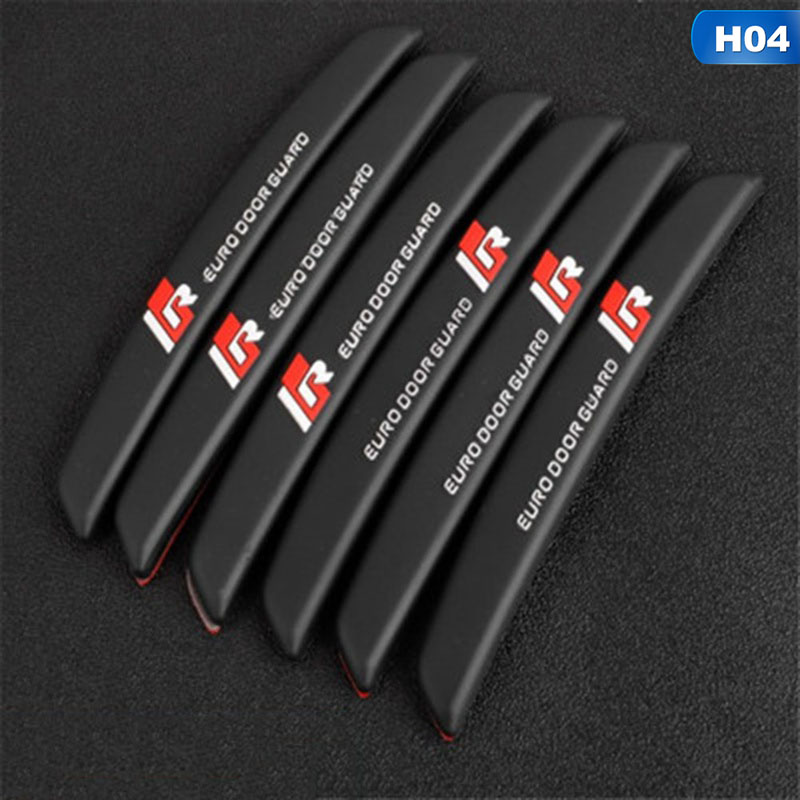 Image 4 - 6Pcs/Set Auto Car Door Guard Edge Corner Protector Guards Buffer Trim Molding Protection Strip Scratch Protector Car Door Crash-in Styling Mouldings from Automobiles & Motorcycles