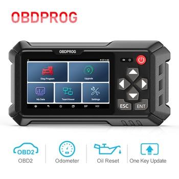 OBDPROG M500 OBD2 Odometer Correction Professional Tool Oil Service Reset OBD2 Scanner Mileage Adjustment Car Diagnostic Tools